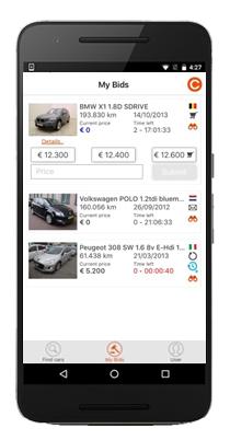 MyBids - Mobile App